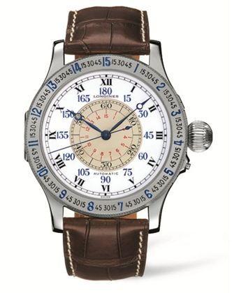 L2.678.4.11.0 : Longines The Lindbergh Hour Angle Watch
