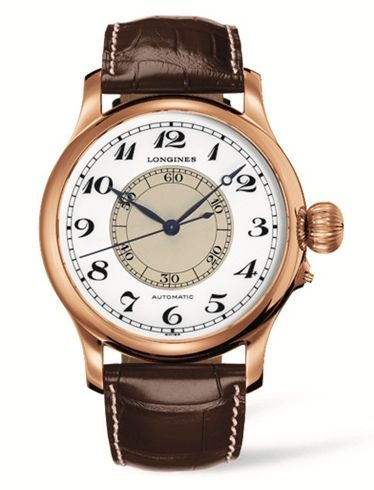 L2.713.8.13.0 : Longines Weems Second-Setting Watch Pink Gold Arabic