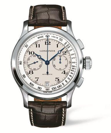 L2.730.4.18.0 : Longines Lindbergh's Atlantic Voyage Watch Arabic