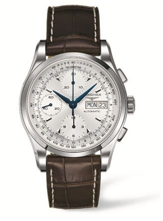 L2.747.4.72.2 : Longines Heritage 1954 Silver