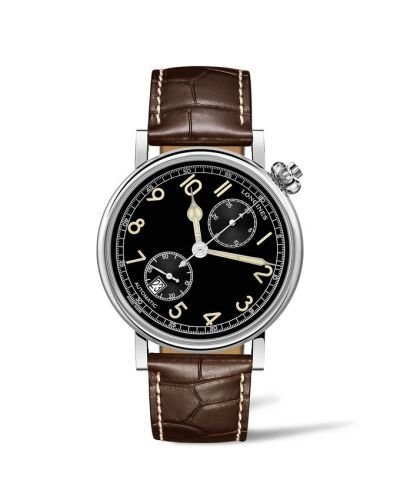 L2.812.4.53.2 : Longines Avigation Watch Type A-7 1935 41 / Black