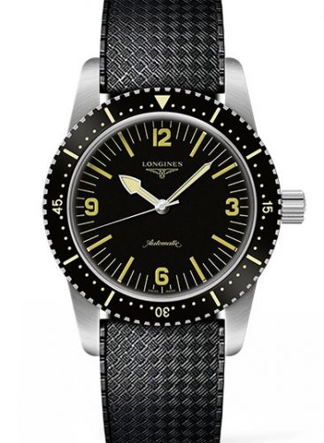 L2.822.4.56.9 : Longines Skin Diver Stainless Steel / Black / Rubber