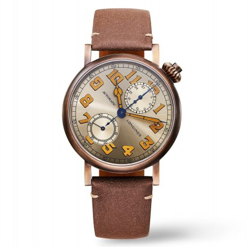 L2.825.1.33.2 : Longines Avigation Watch Type A-7 1935 41 Bronze / Champagne / The Hour Glass