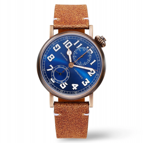 L2.825.1.93.2 : Longines Avigation Watch Type A-7 1935 41 Bronze / Blue / The Hour Glass
