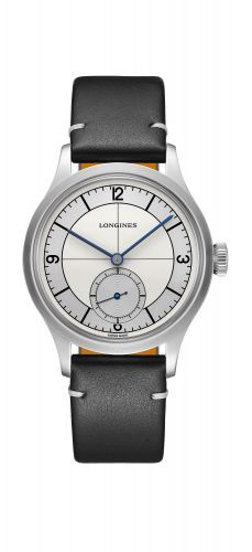 L2.828.4.73.0 : Longines Heritage 38.5 Small Seconds Sector Dial