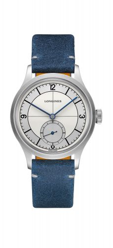 L2.828.4.73.2 : Longines Heritage 38.5 Small Seconds Sector Dial