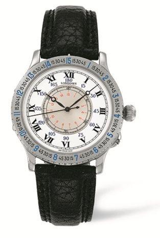 Longines L2.601.4.11.2 : Lindbergh Hour Angle Watch 38mm