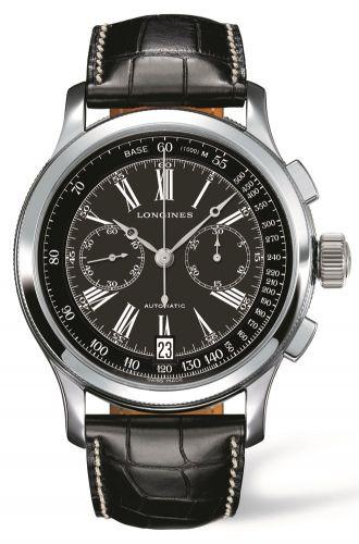 Longines L2.730.4.58.0 : Lindbergh's Atlantic Voyage Watch Black