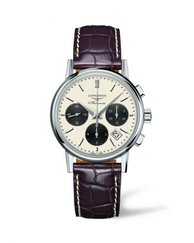 L2.733.4.02.2 : Longines Column-Wheel Chronograph Panda