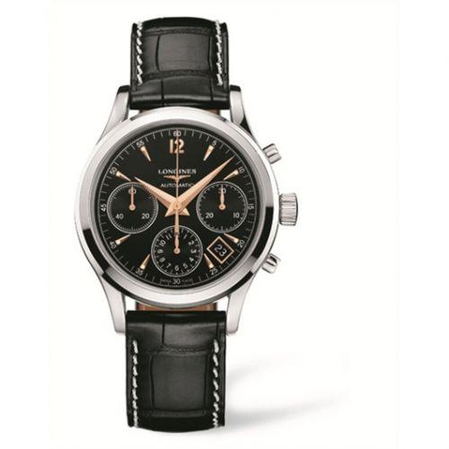 Longines L2.742.4.56.0 : Column-Wheel Chronograph