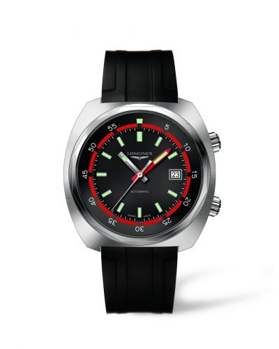 Longines L2.795.4.52.9 : Heritage Diver Rubber