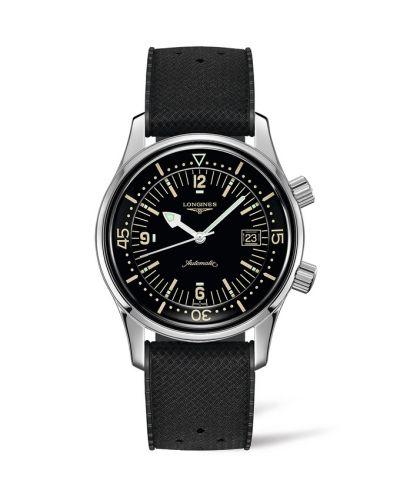 L3.774.4.50.9 : Longines Legend Diver Date Stainless Steel / Black / Rubber