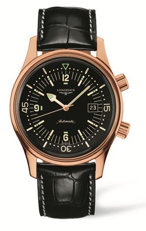 L3.674.8.50.0 : Longines Legend Diver Red Gold