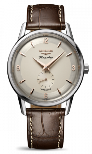 L4.817.4.76.2 : Longines Flagship Heritage 60th Anniversary Stainless Steel