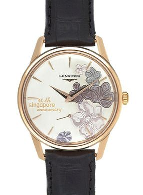 L4.746.8.78.2 : Longines Flagship Héritage Pink Gold Singapore 40th Anniversary