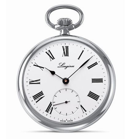 L7.014.4.11.1 : Longines Heritage Pocket Watch Roman Lépine