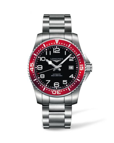 Longines L3.695.4.59.6 : Hydroconquest Automatic 41 Red
