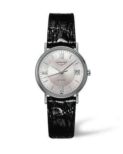 Longines L4.821.4.75.2 : Presence 34.5 Automatic Stainless Steel