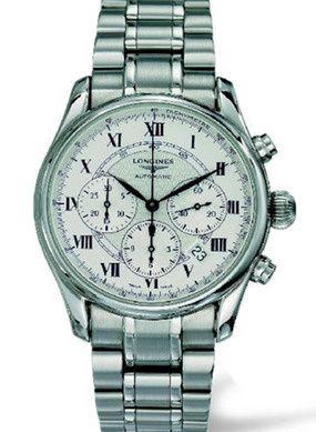 Longines L2.622.4.71.1 : Avigation Chronograph Stainelss Steel / Silver / Bracelet