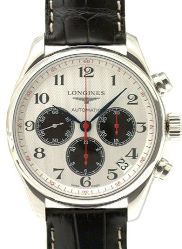 Longines L2.693.4.79.0 : Master Collection Chronograph 44 Stainless Steel / Chile