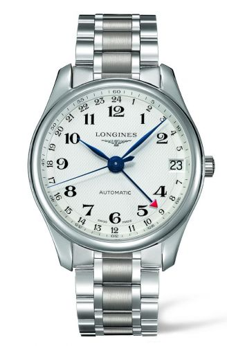 Longines L2.718.4.70.6 : Master Collection 42 24h Stainless Steel / Silver-Arabic / Bracelet