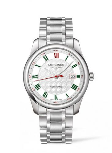 Longines L2.793.4.98.6 : Master Collection 40 Date Stainless Steel / Silver-Roman / Alligator / DFS