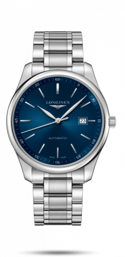 Longines L2.893.4.92.6 : Master Collection 42 Date Stainless Steel / Blue / Bracelet