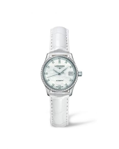 Longines L2.128.0.87.3 : Master Collection Date 25.5 Stainless Steel Diamond