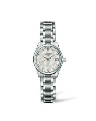 Longines L2.128.4.77.6 : Master Collection Date 25.5 Stainless Steel