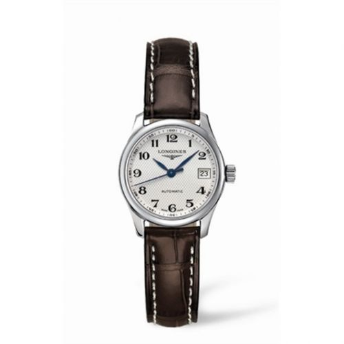 Longines L2.128.4.78.3 : Master Collection Date 25.5 Stainless Steel