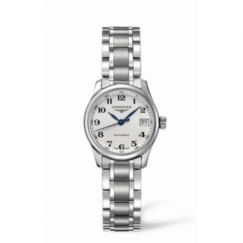 Longines L2.128.4.78.6 : Master Collection Date 25.5 Stainless Steel