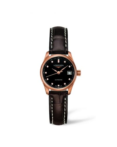 Longines L2.128.8.57.3 : Master Collection Date 25.5 Pink Gold