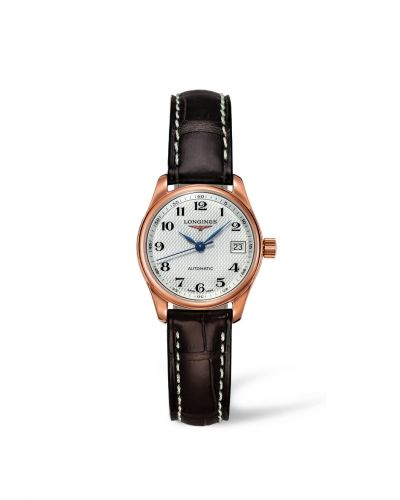 Longines L2.128.8.78.3 : Master Collection Date 25.5 Pink Gold