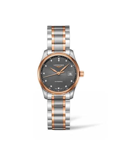 Longines L2.257.5.07.7 : Master Collection 29 Two Tone Rose / Grey