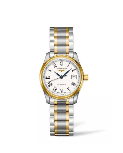 Longines L2.257.5.11.7 : Master Collection 29 Two Tone / White Roman