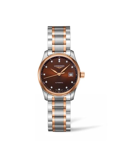 Longines L2.257.5.67.7 : Master Collection 29 Two Tone Rose / Brown