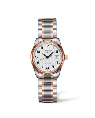 Longines L2.257.5.79.7 : Master Collection Date 29 Two Tone Pink