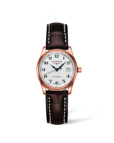 Longines L2.257.8.78.3 : Master Collection Date 29 Pink Gold