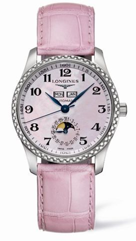 Longines L2.503.0.93.3 : Master Collection Calendar 36 Stainless Steel / Diamond / MOP