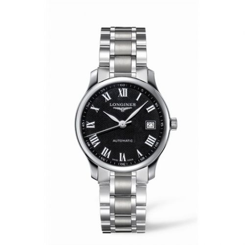 Longines L2.518.4.51.6 : Master Collection Date 36 Stainless Steel Black