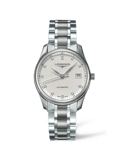 Longines L2.518.4.77.6 : Master Collection Date 36 Stainless Steel Diamond