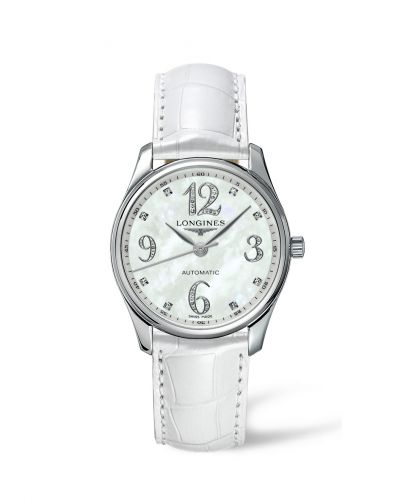 Longines L2.518.4.88.2 : Master Collection Date 36 Stainless Steel MOP