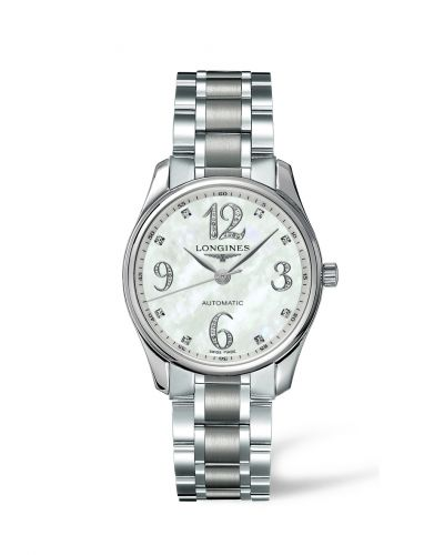 Longines L2.518.4.88.6 : Master Collection Date 36 Stainless Steel MOP