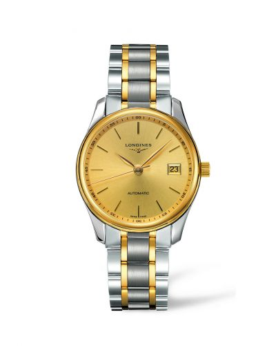 Longines L2.518.5.32.7 : Master Collection Date 36 Two Tone Gold Stick