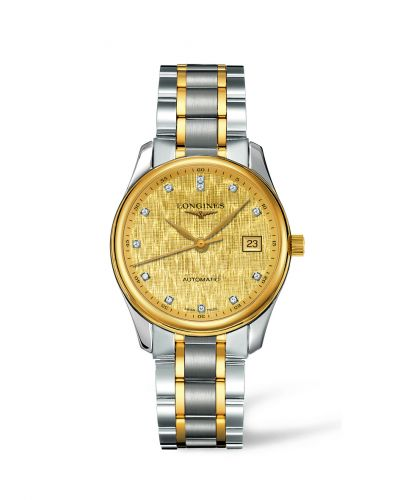 Longines L2.518.5.38.7 : Master Collection Date 36 Two Tone Linen