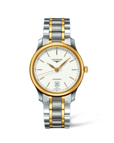 Longines L2.628.5.12.7 : Master Collection Date 38.5 Two Tone Stick