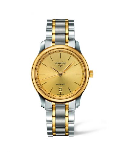 L2.628.5.32.7 : Longines Master Collection Date 38.5 Two Tone Stick