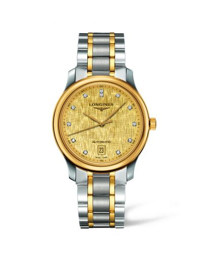 Longines L2.628.5.38.7 : Master Collection Date 38.5 Two Tone Linen