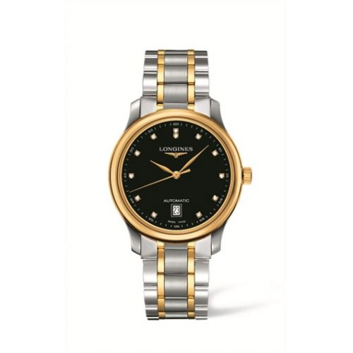 Longines L2.628.5.57.7 : Master Collection Date 38.5 Two Tone Black