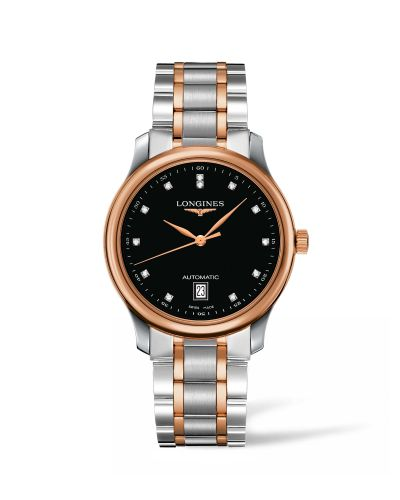 Longines L2.628.5.59.7 : Master Collection Date 38.5 Two Tone Rose / Black